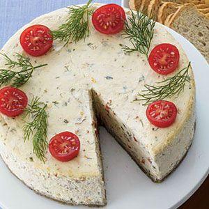 Savory Herb Cheesecake