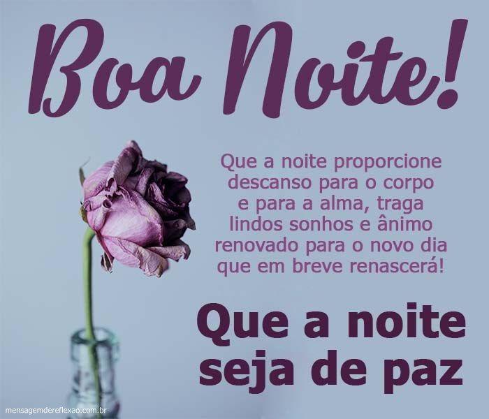 Mensagem Carinhosa De Boa Noite Mensagem De Boa Noite Boa Noite