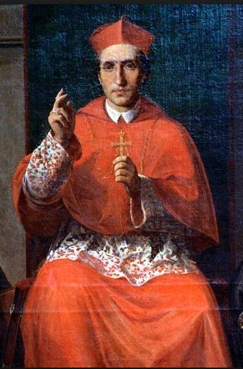 """Saint of the Day – St Charles Borromeo (1538-1584) Archbishop of Milan, Cardinal, Doctor of Theology, Civil and Canon Law, Reformer, Founder of Seminaries.  He is known as the """"Father of the Clergy"""".   Born Count Carlo Borromeo on the morning of Wednesday 2 October 1538 in the castle at Aron, diocese of Novara, Italy and he died at  8:30pm on 3 November 1584 of a fever at Milan, Italy.  His will named the Hospital ......#mydetailsnip"""
