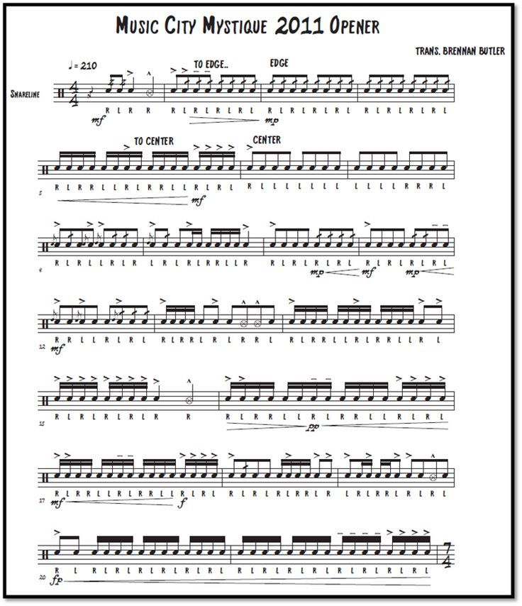how to read drum sheet music wikihow