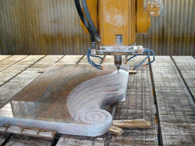 #gravestone #granite high quality workpiece realized by Smart-Cut SN/C 800