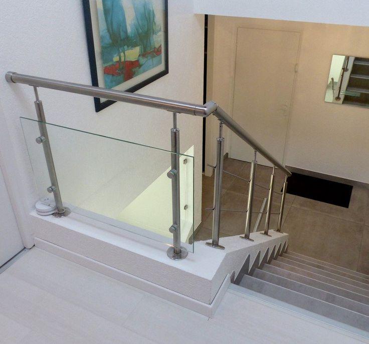 17 meilleures id es propos de balustrade inox sur pinterest rampe escalie - Changer rampe escalier bois ...