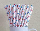 Paper Straws, Party Straws, Wedding Straws, Striped Straws, Straws, Chevron Straws, Polka Dot Straws, Party Supplies --> http://www.etsy.com/shop/puppycatcrafts
