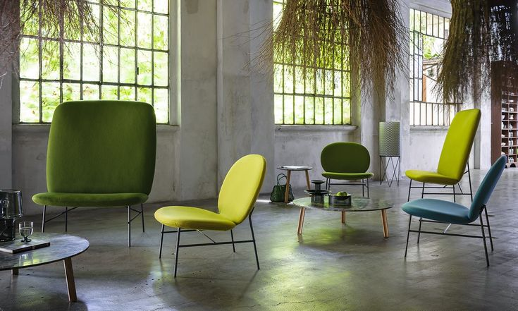 Upholstered armchair KELLY H by Tacchini Italia Forniture design Claesson Koivisto Rune