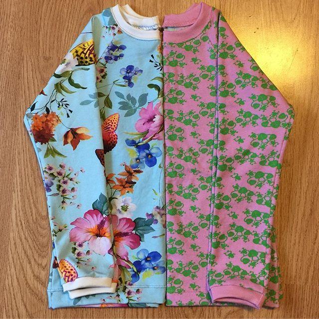 Två nysydda tröjor till min dotter 💖 #designauranah #auranahclothing #auranah
