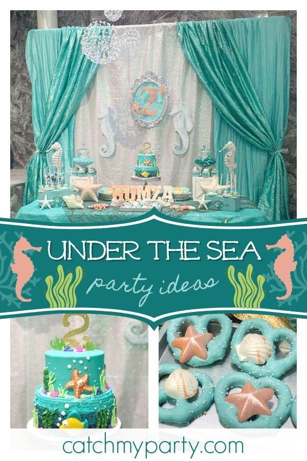 Under The Sea Birthday Under The Sea Birthday Party Sea