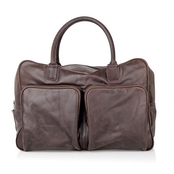 THE IRANIAN OVERNIGHTER - Aptly named after one of our clients, Is the perfect weekender get away bag.  Pockets and differing compartments all over bag to split up his and hers outfits and toiletries.  Detachable shoulder strap A very mutli-purpose bag.  Available in tan, chocolate, black and burgundy.
