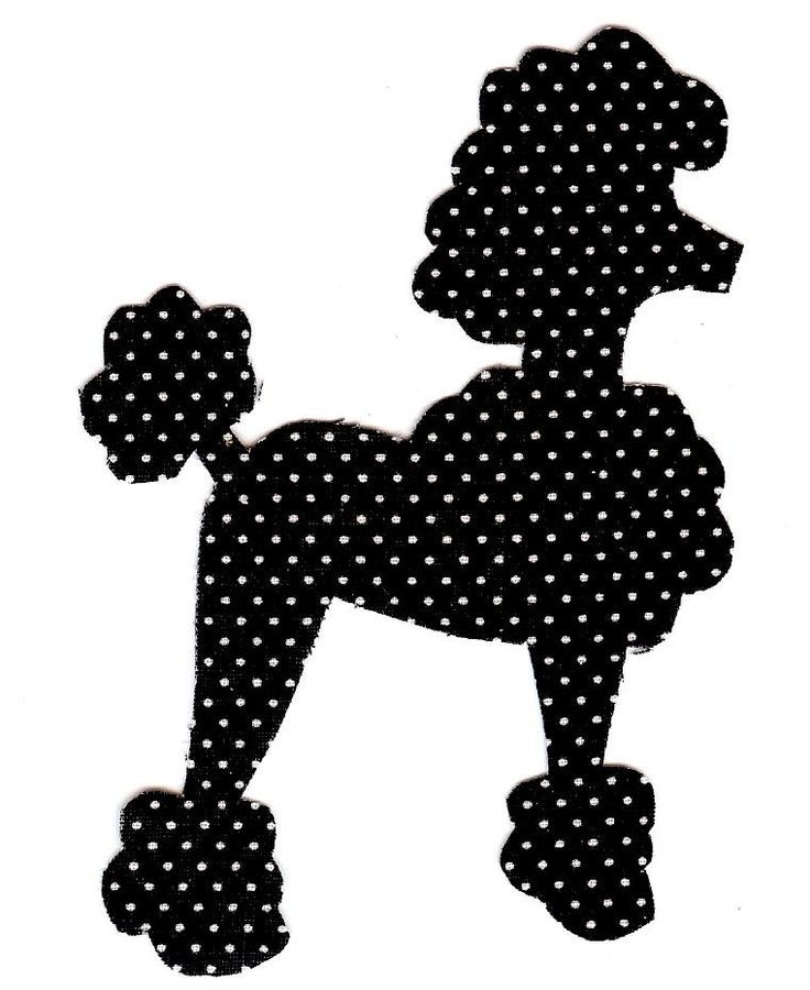 Best 25 poodle skirt pattern ideas on pinterest poodle for Poodle skirt applique template