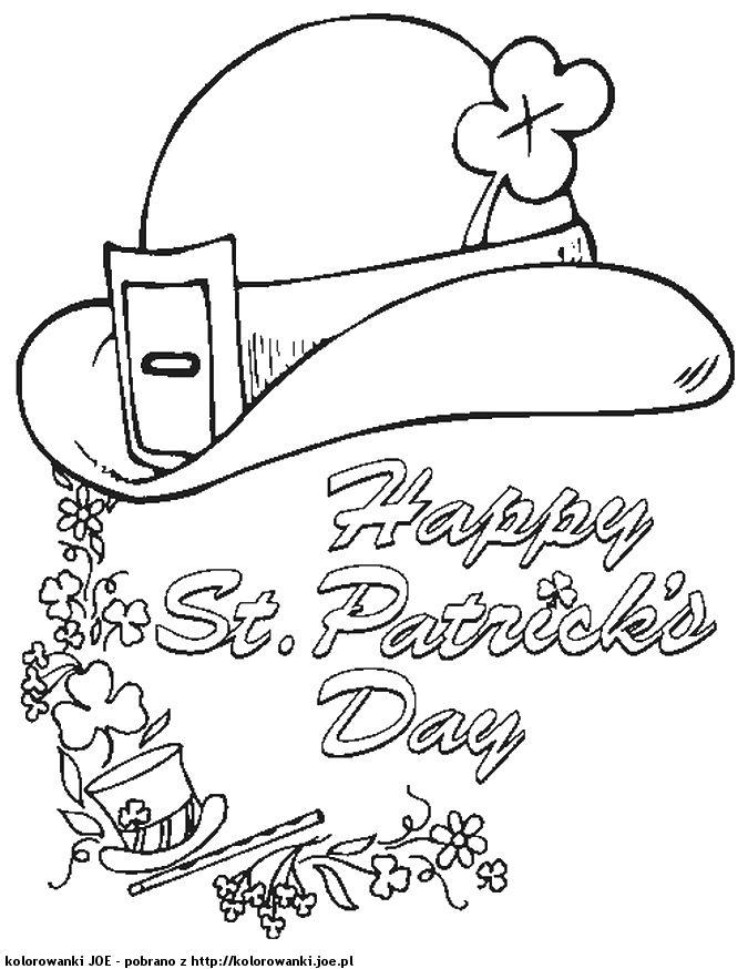 kartka na dzień świętego Patryka