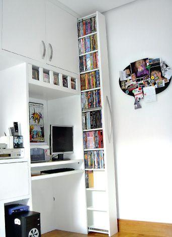 Boy room. Books