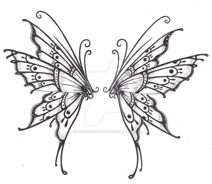 Butterfly wings by crazyeyedbuffalo