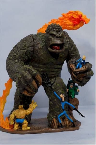 Marvel Masterworks Fantastic Four action figures - Another Toy ...