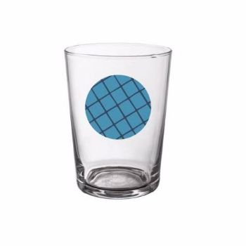 Blue Rio Beer Glass: Blue Rio beer glass. Iconic and passionate with an 80's inspiration, colourful influence and eclectic design.