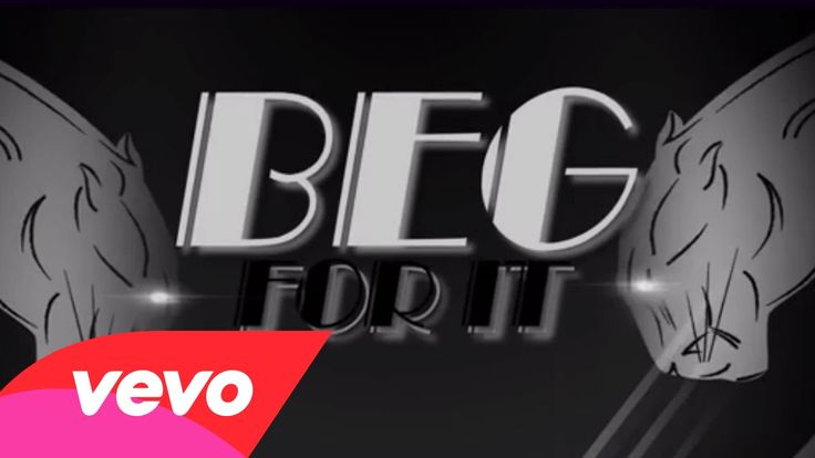 "~Iggy Azalea - Beg For It (Lyric Video) ft. MØ~...""I'm like a drug....Imma make you beg for it.~"