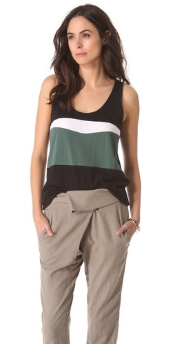 A.L.C. Baiti Tank; I like it but I wouldn't wear it like that.