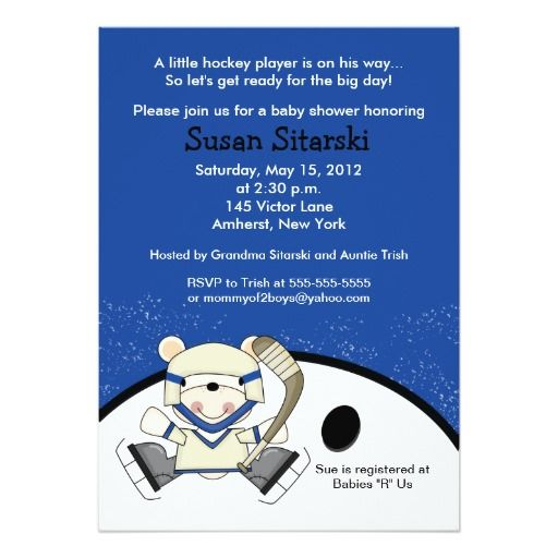 319 Best Images About Bear Baby Shower Invitations On