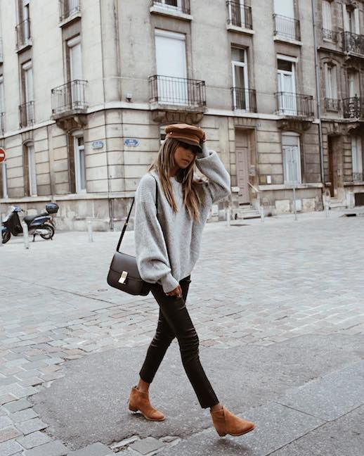 Copy This Cozy Blogger-Approved Fall Outfit