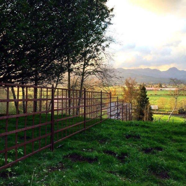 Top 60 Best Dog Fence Ideas - Canine Barrier Designs   Dog ...