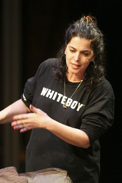 Annabella Sciorra Actress Annabella Sciorra performs at the '24 Hour Plays' at the Atlantic Theater on March 17, 2008 in New York City.