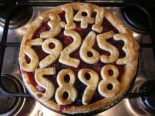 Pi pie crust!