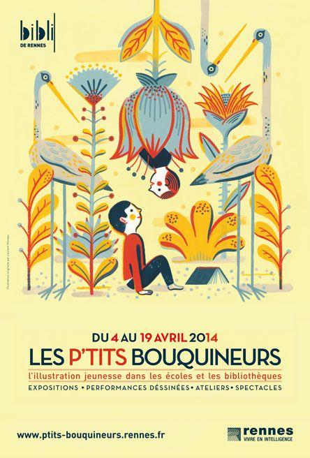 Laurent Moreau est un illustrateur principalement pour la jeunesse. Ces dessins naïfs et pleins de couleurs comblent nos yeux ! N'hésitez pas à découvrir son site. Tweet