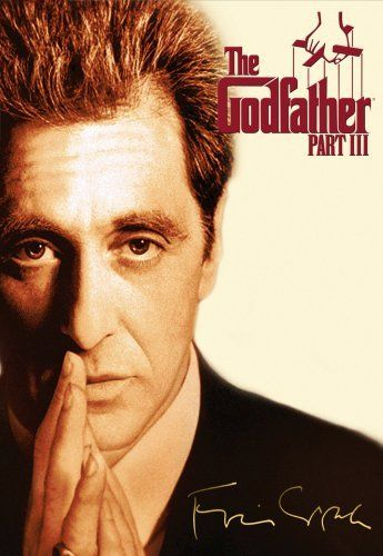 Directed by Francis Ford Coppola.  With Al Pacino, Diane Keaton, Andy Garcia, Talia Shire. In the midst of trying to legitimize his business dealings in 1979 New York and Italy, aging mafia don Michael Corleone seeks to vow for his sins while taking a young protégé under his wing.
