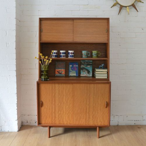 small vintage bookcase