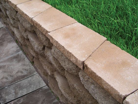 Complete Your Retaining Wall With Caps Concrete