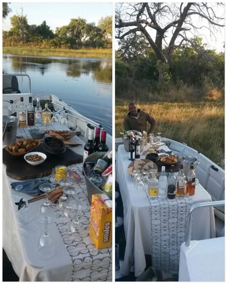 Xigera floating bar #TGIF #OkavangoDelta #safari