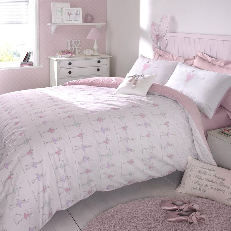 The Darcey Bus Tiny Ballerina Duvet Cover Set Is Available In Two Sizes For Children Single And Double