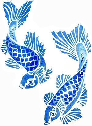 Colorful Koi Fish Drawings | The Koi Carp are great in both classic single colour schemes or mixed ...