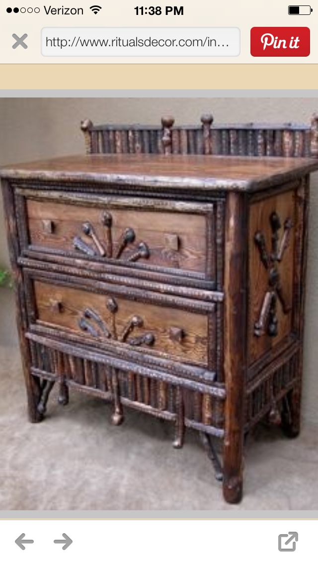 1000 Images About Twig Stuff On Pinterest Folk Art Furniture And Quilt Racks