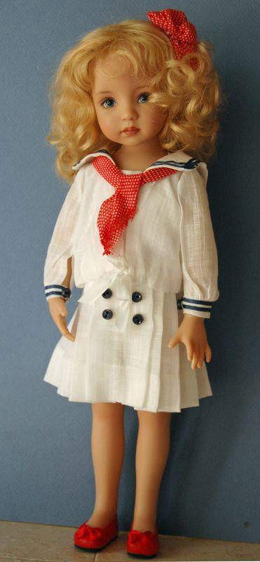 Dianna Effner,  Kuwahi Doll  (USA) —10'' Vinyl 'Little Darling Dolls' Saylor, 2005    (371x800)