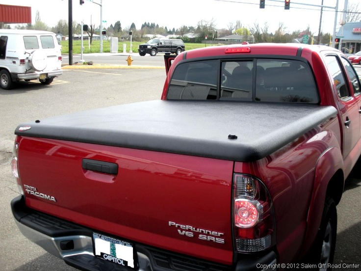A 2007 Toyota Tacoma with a UnderCover Tonneau Cover. http://www.salemoffroadcenter.com/