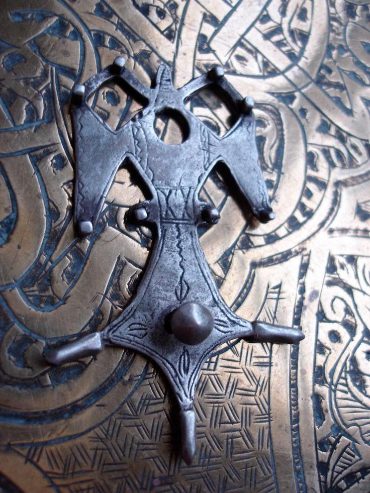 543 best ethnic tuareg images on pinterest tribal jewelry ethnic moroccan tuareg cross bedouin silver hand made pendant 12200 via etsy mozeypictures Images