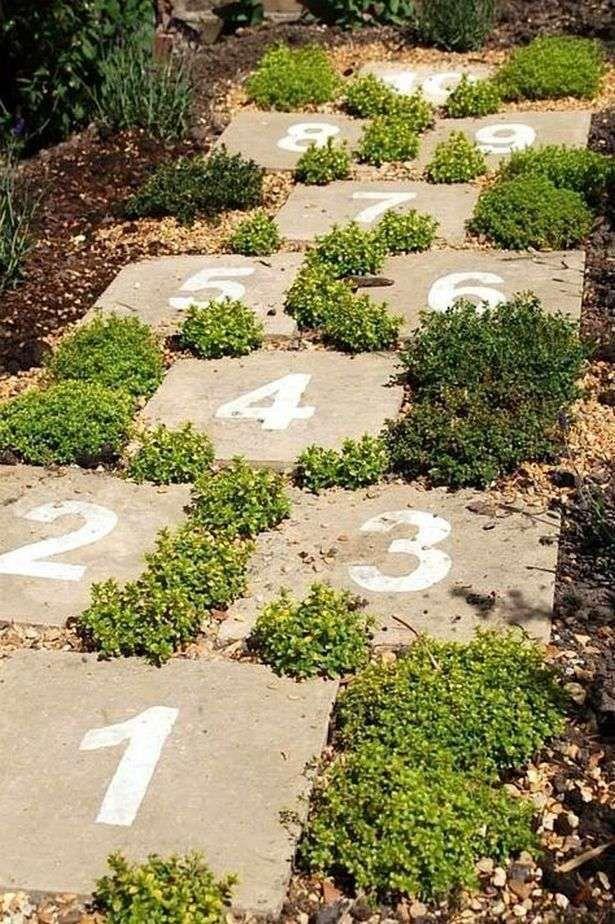 Spielen Sie Garden Ideas Stepping Stones Garden Ideas Naturalplaygroundideassteppingston Naturspielplatz Garten Spielplatz Kinderfreundlicher Garten