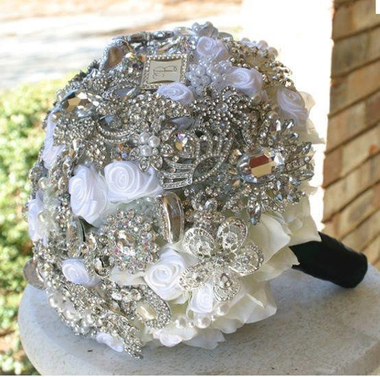 wedding bouquets with bling 18 best images about bling wedding ideas on 8537