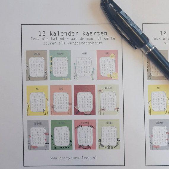 Hoi! Ik heb een geweldige listing op Etsy gevonden: https://www.etsy.com/nl/listing/295203853/kalender-kaarten-papier-ontwerp-door
