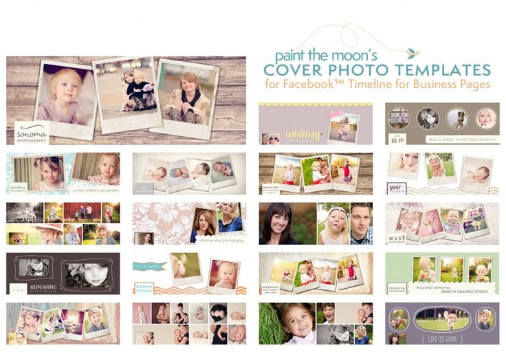 Photoshop Actions - Facebook Business Page Timeline Cover Templates Free Makeover Retouching