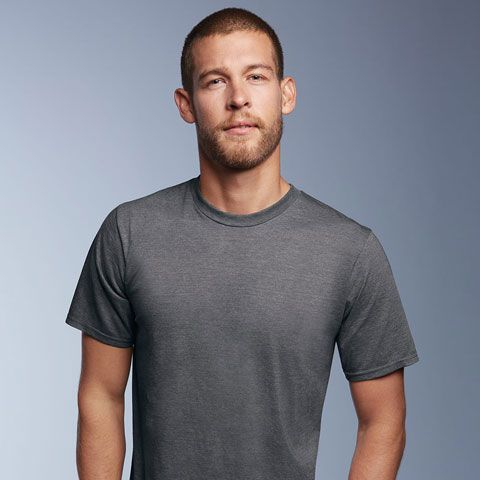 Get your perfect fit with Anvil-Ringspun 450 Mens Cotton T-Shirt with precision