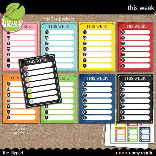 This Week Cards {FREEBIE} by Amy MartinProjects Life Printables Free, Weeks Journals, Projects Life Freebies, Journals Cards, Printables Cards, Printables Journals, Journal Cards, Free Printables, Weeks Cards
