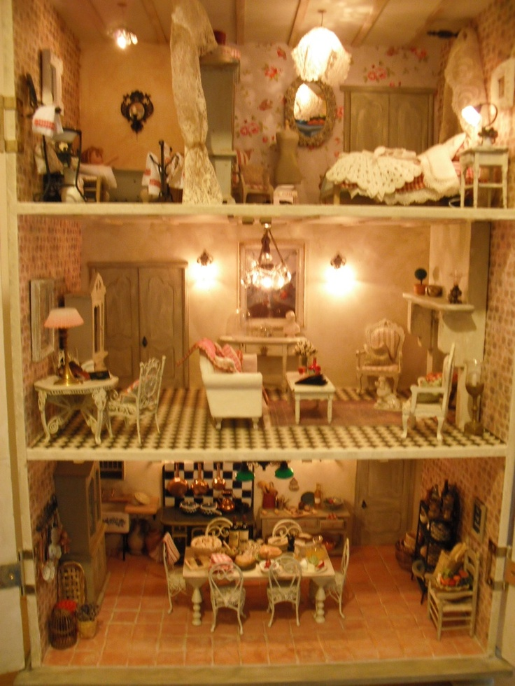 17 Best Images About Dolls House On Pinterest Barbie