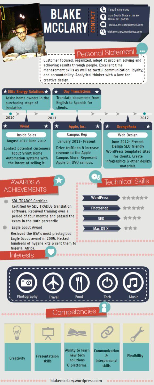207 Best Design Resumes Images On Pinterest Resume Cv