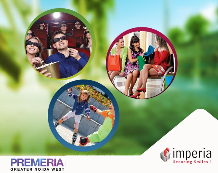 Presenting Imperia ‪Premeria‬ , a lifestyle and entertainment extravaganza at the heart of Greater Noida West .