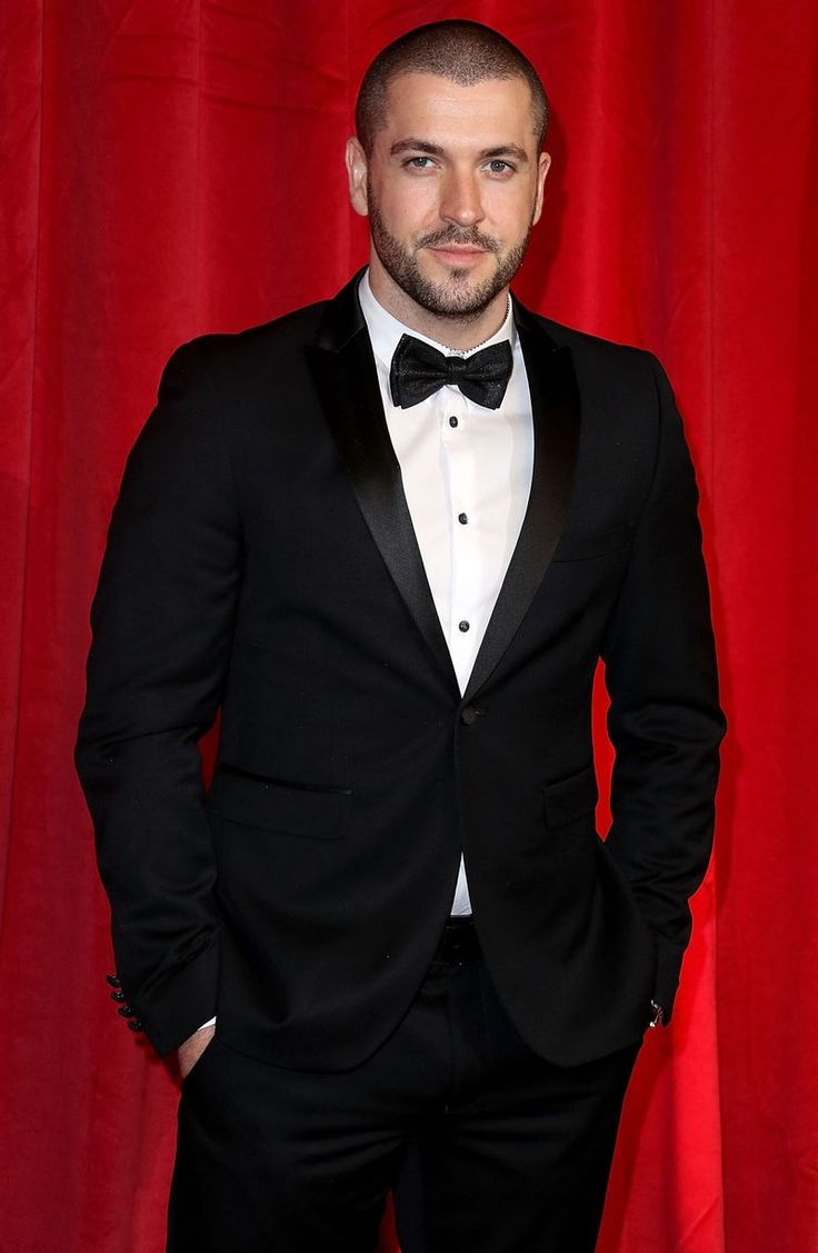 Shayne Ward attends the British Soap Awards 2016