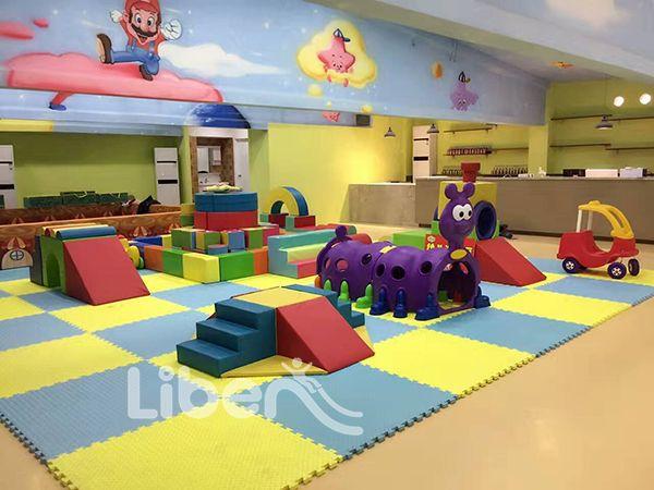Liben Kids Indoor Trampoline with Playground Project
