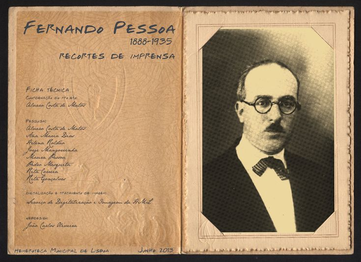Efemérides | Fernando Pessoa (1888-1935): nos 125 anos do seu nascimento