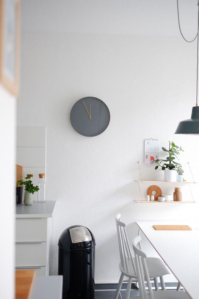 Die besten 25+ graue Wanduhren Ideen auf Pinterest farblich - wanduhr design wohnzimmer