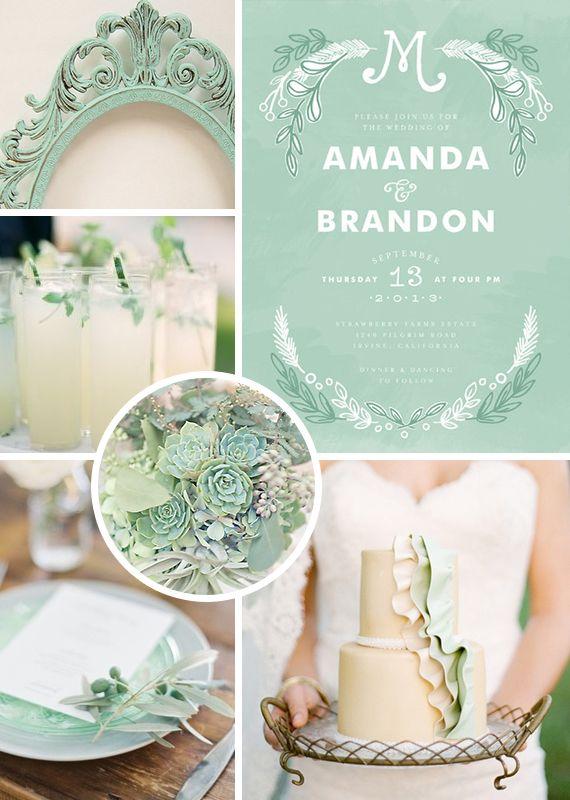 Mint Inspiration #Mint/ pastel green Wedding Reception ... Wedding ideas for brides, grooms, parents & planners ... https://itunes.apple.com/us/ap…   Mint Gre…