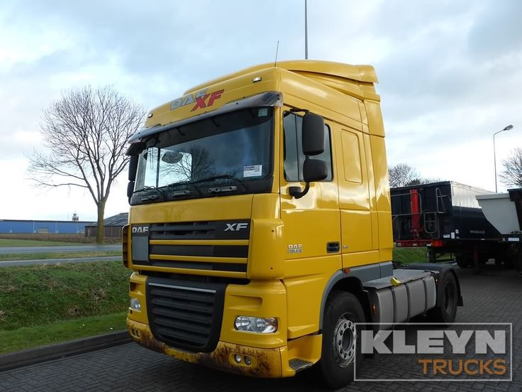 For sale: Used and second hand - Tractor unit DAF XF 105.410 #daftrucks at #kleyntrucks